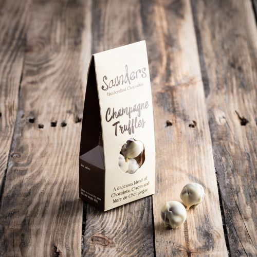 Saunders Chocolates Champagne Truffles Pouch